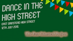 Dance in the High Street Title Screen