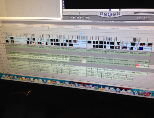 VBDance Show Editing