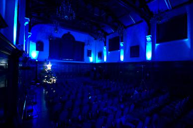Blue LED Moodlighting