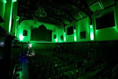 Green LED Moodlighting
