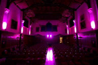 Purple LED Moodlighting